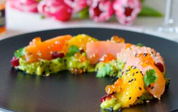 recette-saumon-agrumes-vinaigrette-sesame